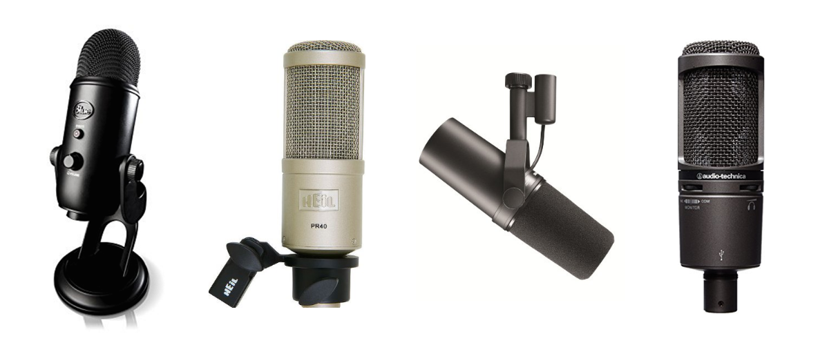 The Best and Most Recommended Microphone for Vocals List – 2017